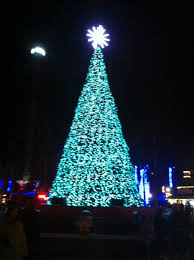 christmas first christmas lights were in new jersey e six flags