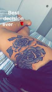 best 20 rose tattoo thigh ideas on pinterest thigh tattoos hip