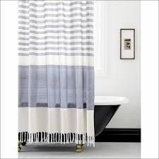 Black Ruffle Shower Curtain Bathrooms Marvelous Target Black Farmhouse Star Shower Curtain