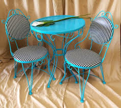 Turquoise Patio Furniture Small Patio Table And Chairs Officialkod Com