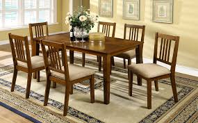dining room rustic wood dining table with natural wood dining