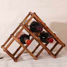 Kitchen Wine Cabinet Online Get Cheap Wine Rack Wooden Aliexpress Com Alibaba Group