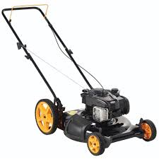 poulan pro 21 in walk behind gas push mower 961120134 the home