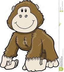 Gorilla Clip Art Cartoon Clipart Panda Free Clipart Images