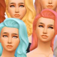 women u0027s cool kitchen stuff hair recolors simsworkshop