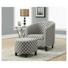 Accent Chair And Ottoman Accent Chair And Ottoman Gray Circles Everyroom Target
