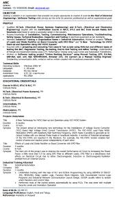 electrical resumes examples best apprentice electrician resume