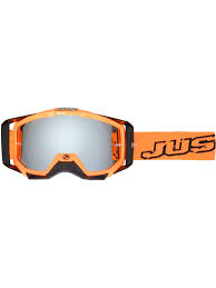 motocross goggle just1 neon black orange iris mx goggle just1 freestylextreme