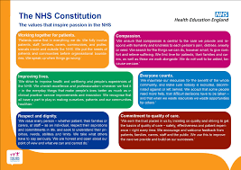 six nhs values explained by the nhs constitution nursing pinterest