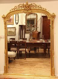 large english mid 19th century adam style arch top overmantle