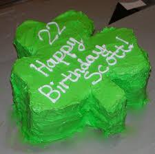 irish themed 50th birthday cake cakes 50th