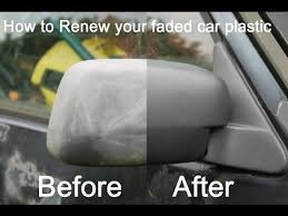 Diy Interior Car Detailing Top Hack How To Restore Faded Plastic Bumpers And Trims On A Car
