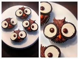 owl cupcakes fun fall treats at home with natalie