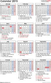 printable calendar year 2015 calendar 2015 uk 16 free printable pdf templates