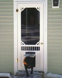 home depot black friday storm doors no cutting into your house for the doggie door this larson storm