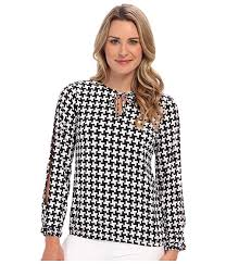houndstooth blouse houndstooth hub shop houndstooth apparel merchandise clothing
