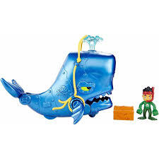 fisher price jake neverland pirates super creature whale