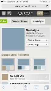 nostalgia blue valspar paint playroom pinterest valspar