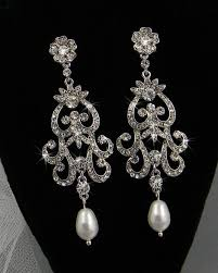 wedding earrings chandelier stunning chandelier earrings for wedding images style and ideas