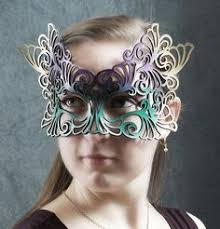 leather mardi gras masks totem leather mask in mardi gras colors totems colors and etsy