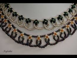 making bead necklace images 635 best beaded necklace tutorial images jpg