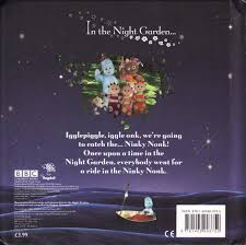 aboard ninky nonk bbc night garden large square board book