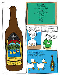 cartoon beer bottle beer is for everyone