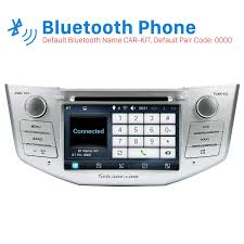 lexus rx 400h review pure quad core android 5 1 1 in dash dvd gps system for 2004 2010