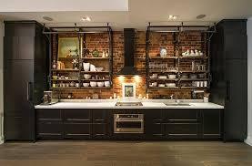 briques cuisine cuisine style industriel une beauté authentique mur en brique