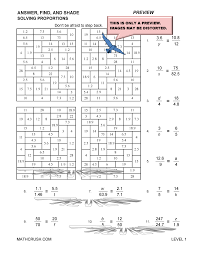 ratios and proportions worksheets and help pages by math crush