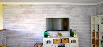 1920x1440 real brick wall interior panels and lcd tv excerpt