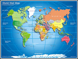 World Map Wallpaper by World Map Desktop Backgrounds Wallpaper Cave