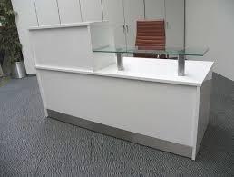 White Gloss Reception Desk Gloss White Desk Ikea Home Design Ideas