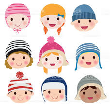group of kids face set stock vector art 476473774 istock