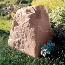 Artificial Garden Rocks Faux Rock Landscaping Utility Box Covers At Brookstone Buy Now