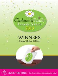 charlottesvillefamily 2013 family favorites awards by ivy