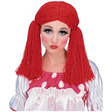 amazon com rag doll wig costume accessory clothing