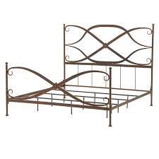 Metal Bed Frame King Contemporary King Size Metal Bed Frame Ebth