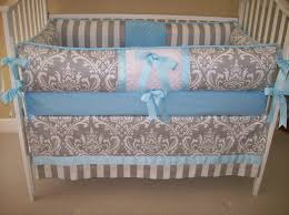 Baby Bedding Blue And Grey Baby Bedding