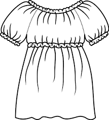 draw mexican dress coloring pages color luna