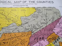 Map Of Central Pennsylvania by Visions Of Teaoga Jim Remsen