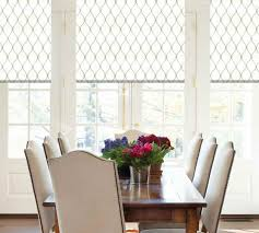 formal dining room window treatments dinning dining room window curtains flat roman shades formal
