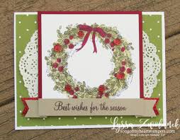 a feeling of wreath card song of my sters