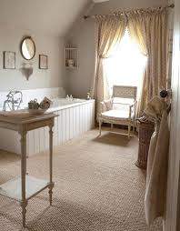 seagrass carpet in old english style bathroom beautiful