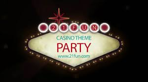 casino theme party youtube