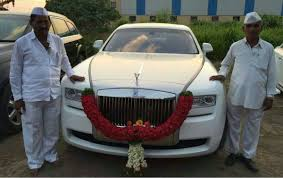 roll royce delhi meet indian farmer owns fleet cars including rolls