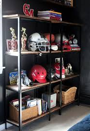ikea industrial rustic industrial ikea hack bookcase hometalk