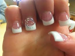 french nail tip gel coat nails pinterest french nails