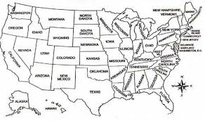 us map of states coloring page coloring pages united states map