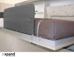 Wall Bed Sofa Amore Flat Side Folding Wall Bunks With Desk Expand Furniture